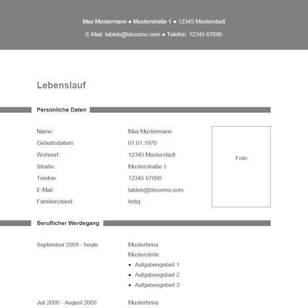 Vorlage / Muster: Vorlage 19