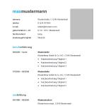 Vorlage / Muster: Vorlage 65