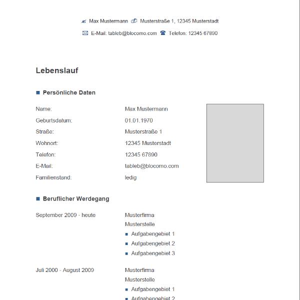Vorlage / Muster: Vorlage Grau-Blau