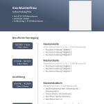 Vorlage / Muster: Blauer Farbverlauf