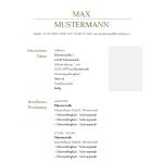 Vorlage / Muster: Klassisch Grün