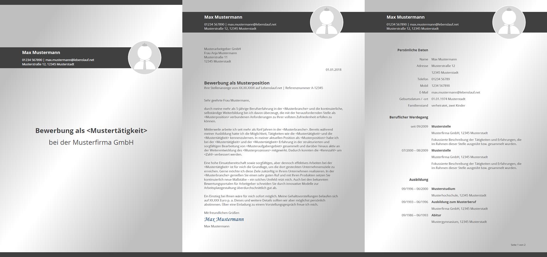 E-Mail-Bewerbung: Anschreiben, Betreff & Anhang - Tabellarischer ...