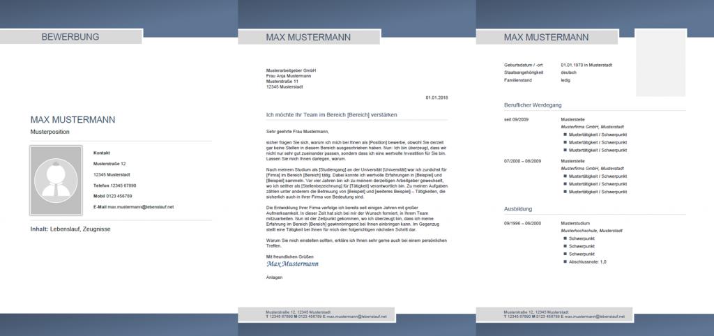Muster / Vorlage: Initiativbewerbung Muster