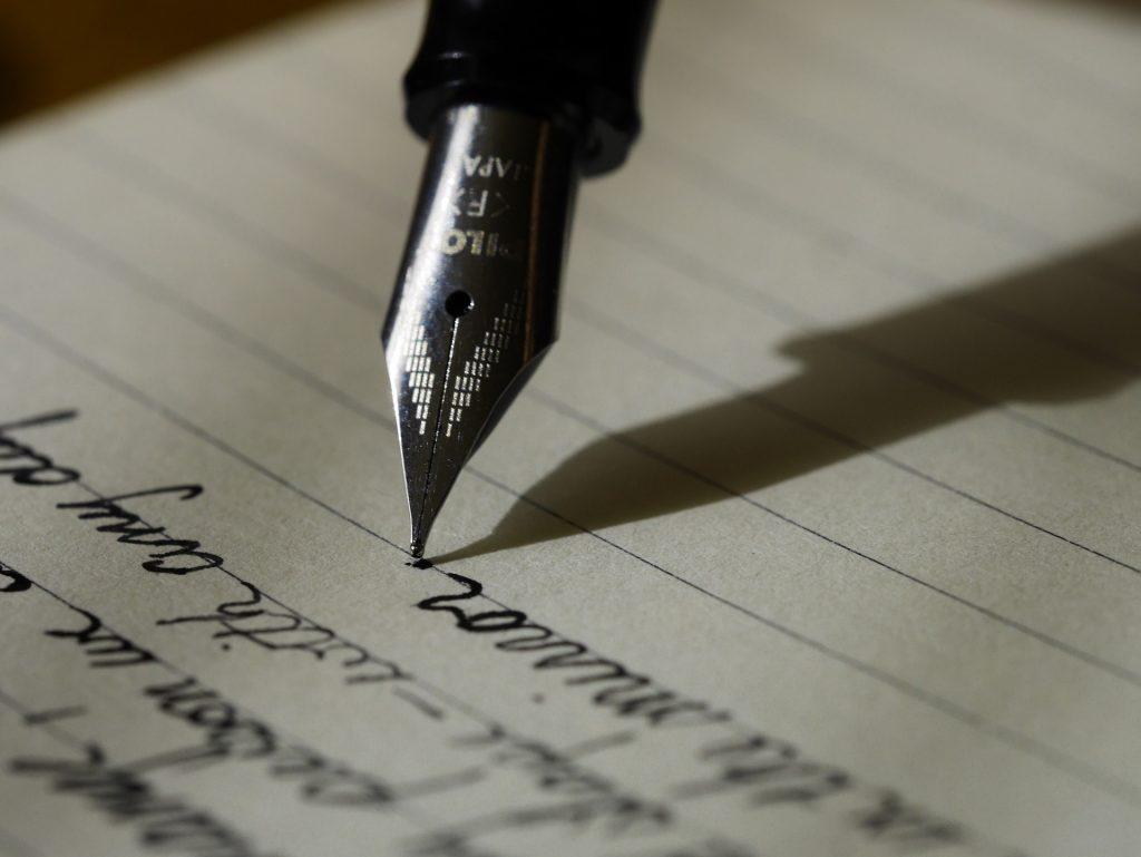 Handschriftlicher Lebenslauf