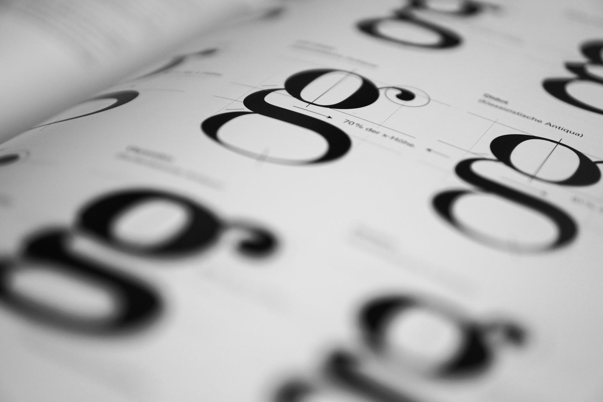 Schriftarten und Schriftgröße im Lebenslauf - Tabellarischer Lebenslauf