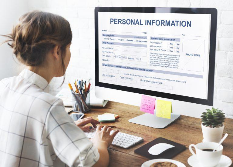 Persönliche Daten im Lebenslauf