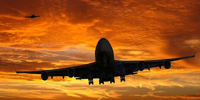 Auslandserfahrung-Flugzeug
