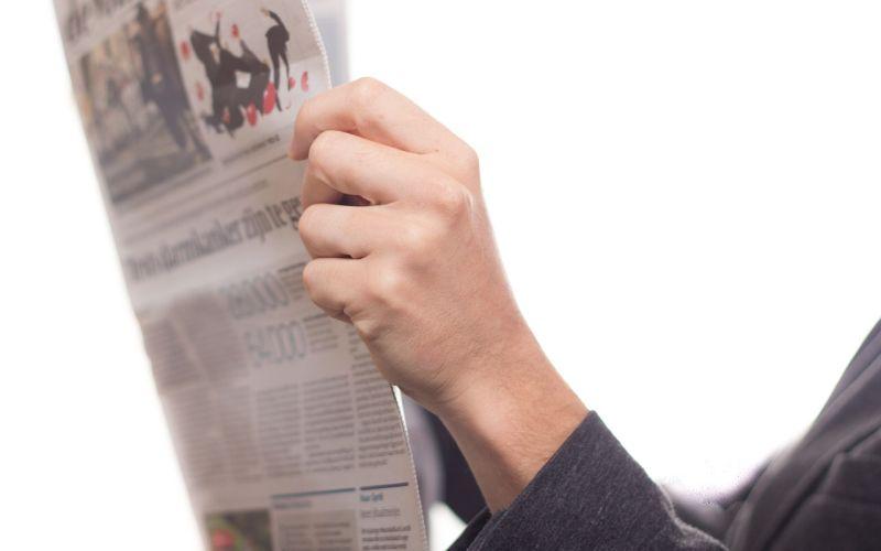Recherche in Lokalzeitung