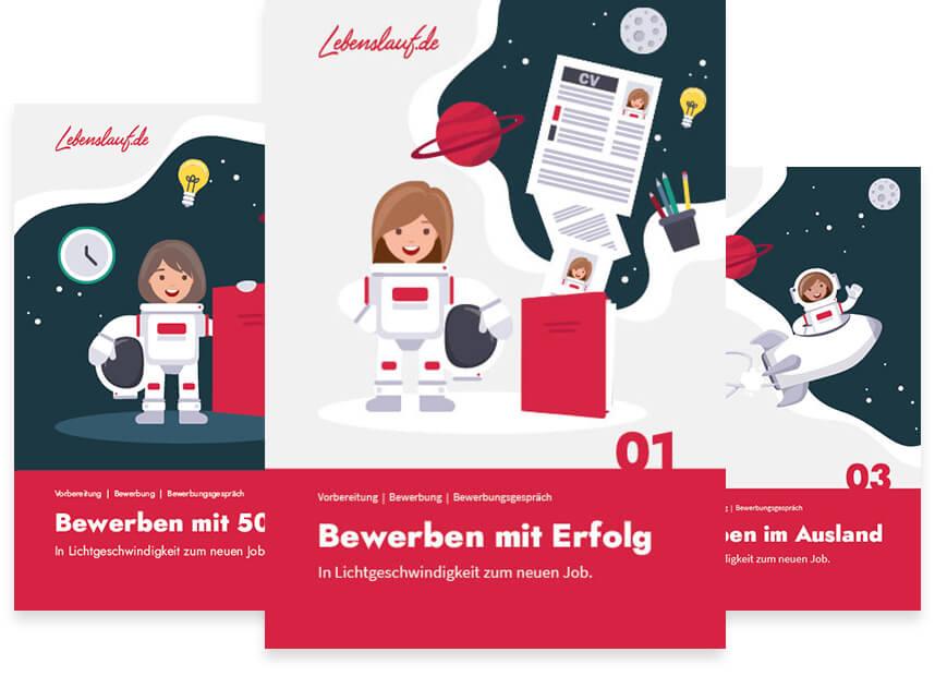 Bewerbungsbuch von Lebenslauf.de